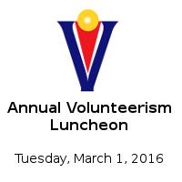 Annual Volunteerism Luncheon