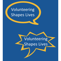 Volunteer Week 2017 Theme:  'Volunteering Shapes Lives'